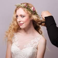 bridal wedding hairstyle for long hair romantic wedding hairstyle tutorial for long hair