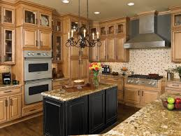 maple cabinets dark island ideas for the house pinterest