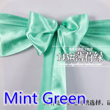 mint chair sashes compare prices on mint chair sashes online shopping buy low price