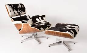 Black And White Chair And Ottoman Design Ideas Republic Furniture Replica Eames Lounge Chair Ottoman