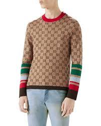 wool sweater gucci gg jacquard wool sweater neiman