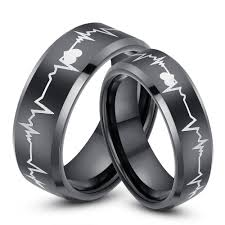 his and hers wedding bands black wedding rings his and hers wedding corners