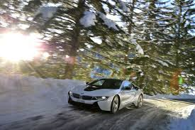 Bmw I8 Drift - bmw i8 electric snow driving plugin magazine com