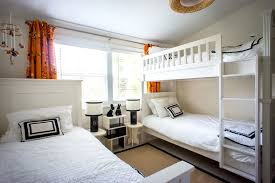 dazzling twin over full bunk bed with stairs in kids transitional