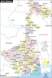 Geographical Map Of South America West Bengal Map