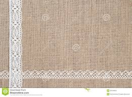 burlap and lace ribbon burlap background with lace stock photos image 38704663