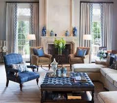 living room furniture blue interior design