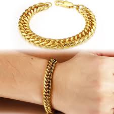 gold man bracelet images Mens gold bracelet designs media rich jewelry gold silver jpg