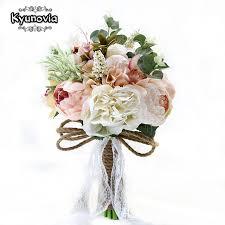 theme wedding bouquets aliexpress buy kyunovia new camellias wedding bouquet plants