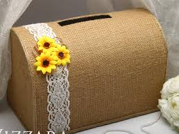 sunflower wedding ideas wedding post box sunflower wedding decor rustic wedding ideas