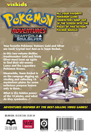 pokémon adventures heart gold soul silver vol 1 book by