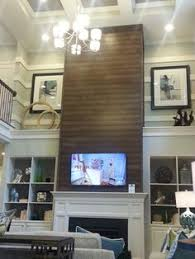 How To Add Wood Trim Above Fireplace Mantle Fireplace Design - Design fireplace wall