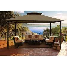 Patio Tent Gazebo Patio Gazebos Sheds Garages Outdoor Storage The Home Depot Outdoor
