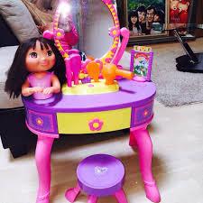 Vanity Playset Find More Reduced Euc Dora Vanity Table Stool And Vanity Set