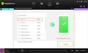 itunes on android keepvid guide transfer from itunes to android device