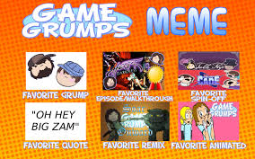Game Grumps Memes - game grumps meme my answers by kristianthetiragon on deviantart