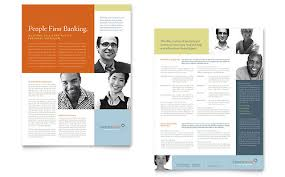 Sales Sheet Template Banking Sales Sheet Templates Financial Services