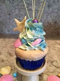 fake cake mermaid cupcake home staging food fake food