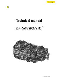 zf as tronic technicians handbook automatic transmission