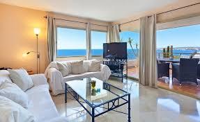 sea view apartment in puerto portals rent mallorca liba45 living