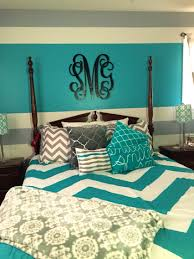 bedroom adorable painted walls colors and accent turquoise room