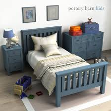 Pottery Barn Twin Bed Pottery Barn Elliott Bed By Erkin Aliyev 3docean