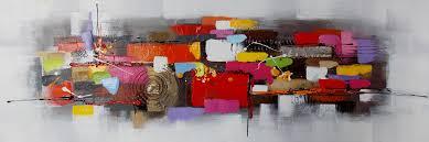 Tableau Triptyque Contemporain by Toiles Et Tableaux On Decoration D Interieur Moderne Tableau Toile