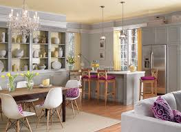 Living Room Color Schemes With Dark Wood With Room Color Schemes - Kitchen and living room color schemes