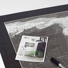Black And White World Map Black And White World Map By The Future Mapping Company