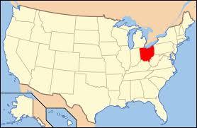 america map ohio outline of ohio