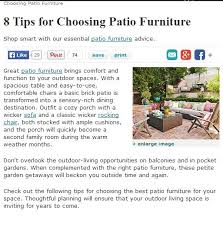 8 tips for choosing patio furniture savor the spring with new outdoor patio furniture in indianapolis