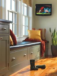 Plain And Fancy Kitchen Cabinets Choose Durable Mudroom Materials Hgtv