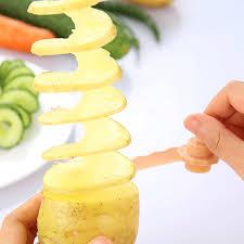 cutter de cuisine 1 pc chaude haute qualité carotte spirale trancheuse cuisine modèles