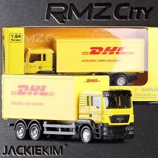 aliexpress com buy new rmz new rmz city 1 64 scale express dhl cargo truck alloy car model