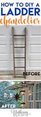 Chandelier Cleaner Recipe Pottery Barn Inspired Ladder Lantern Hanger Unskinny Boppy