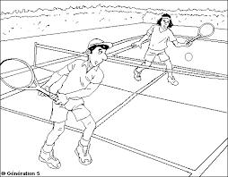 coloriage les beaux dessins de sport à imprimer et colorier