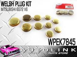 welsh plug kit suit mitsubishi 6g72 3 0lt v6 challenger magna