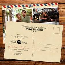 postcard save the date 8 creative save the date ideas yeahmag