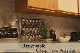 Kitchen Backsplash For Renters - removable backsplash us house and home real estate ideas
