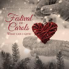 festival of carols ohio christian university