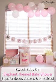 for a baby shower baby girl elephant baby shower on a budget decor and desserts