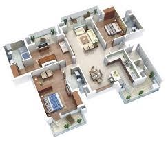 three bedroom flat floor plan general apartment with multiple terraces 25 three bedroom house