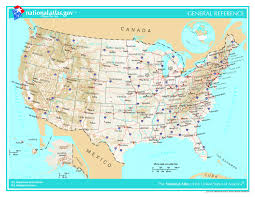 Map De Usa by Detailed Geographic Map Of The Usa The Usa Detailed Geographic