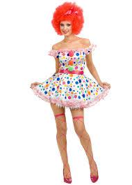 Circus Halloween Costumes Fancy Womens Clown Characters Circus Halloween Costume Circus Costume