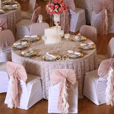 chair sash ruffle blush chiffon chair cover chiffon chair sash for