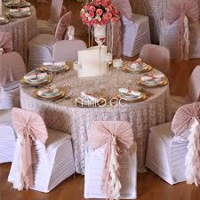 blush chair sashes ruffle blush chiffon chair cover chiffon chair sash for