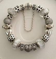 white charm bracelet images Pandora charms white pandorawholesale jpg