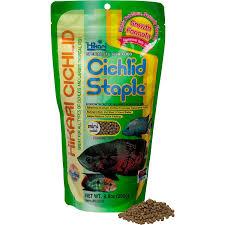 amazon com hikari cichlid staple mini pellet 8 8 oz pet