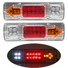 Led Tail Light Bulbs For Trucks by Aliexpress Com Buy 2pcs Lot Car Van Truck Lorry Trailer Led Tail