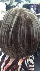 how to blend gray hair with lowlights best highlights to cover gray hair wow com image results